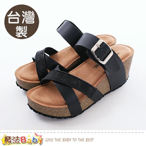 女鞋台灣製時尚流行拖鞋魔法Baby~sd8064