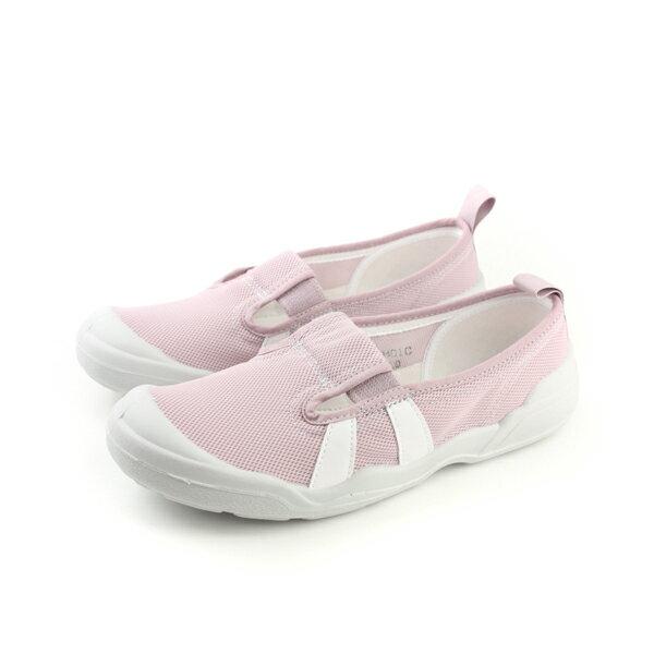 Moonstar  網布 室內鞋 淺紫色 女鞋 no045