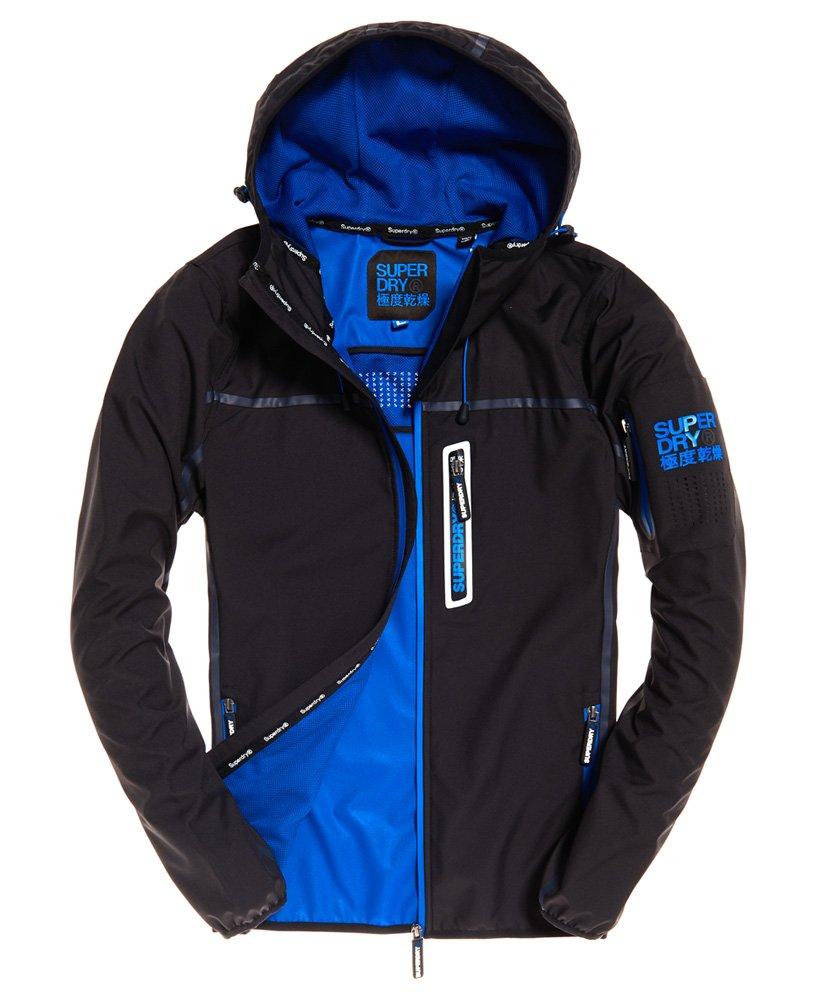 跩狗嚴選 極度乾燥 Superdry Tracker 風衣 炭黑 藍 運動夾克 外套 薄款 科技布料 透氣 防風 薄夾克 連帽
