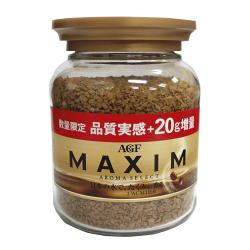 AGF MAXIM箴言咖啡80+20