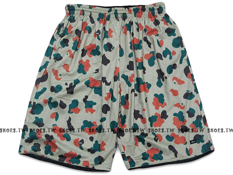 Shoestw【140002449031】K1X 德國街頭籃球服飾 球褲 籃球褲 迷彩 男款