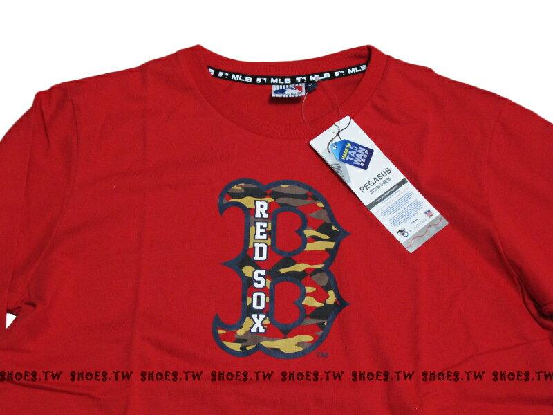 Shoestw【5460106150】MLB 美國大聯盟 MAJESTIC 長袖 薄長袖 紅襪 紅色 1