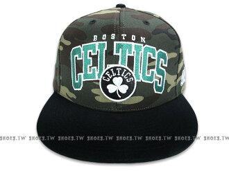 鞋殿【8331303001】NBA 運動帽 棒球帽 調整帽 潮流帽 波士頓 塞爾提克隊 迷彩系列