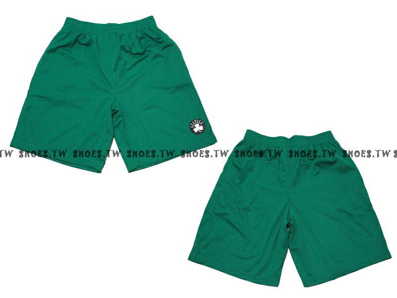 【8330504001】NBA 籃球褲 透氣排汗 熱身褲 幸運草 塞爾提克隊 綠色