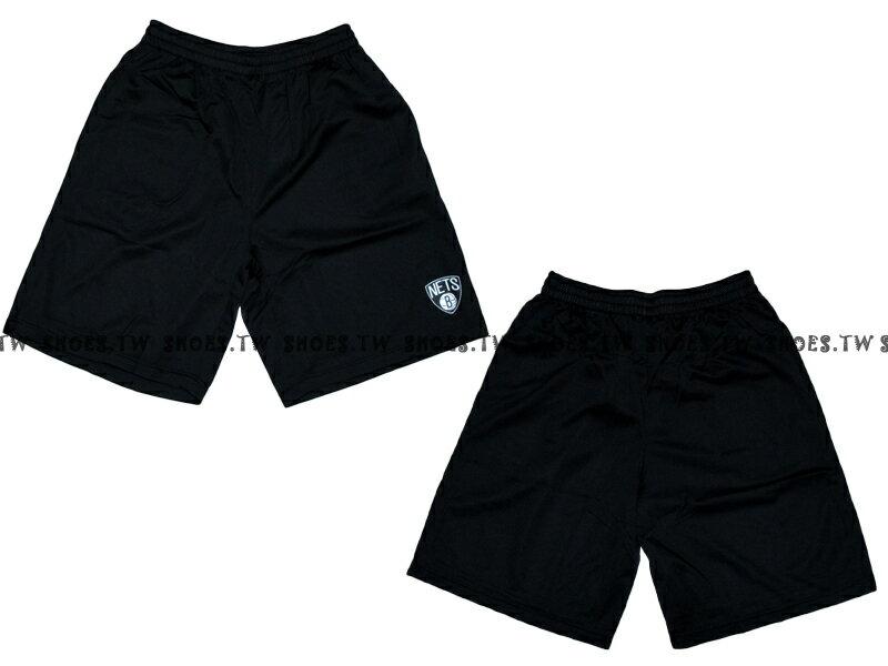 【8330504003】NBA 籃球褲 透氣排汗 熱身褲 布魯克林 籃網隊 黑色