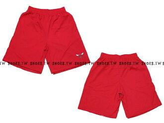 【8330504010】NBA 籃球褲 透氣排汗 熱身褲 芝加哥 公牛隊 紅色