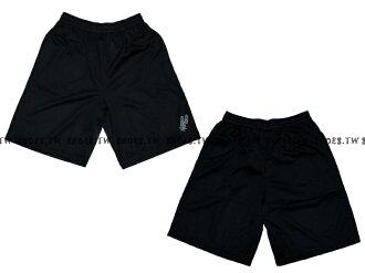 【8330504020】NBA 籃球褲 透氣排汗 熱身褲 聖安東尼奧 馬刺隊 黑色