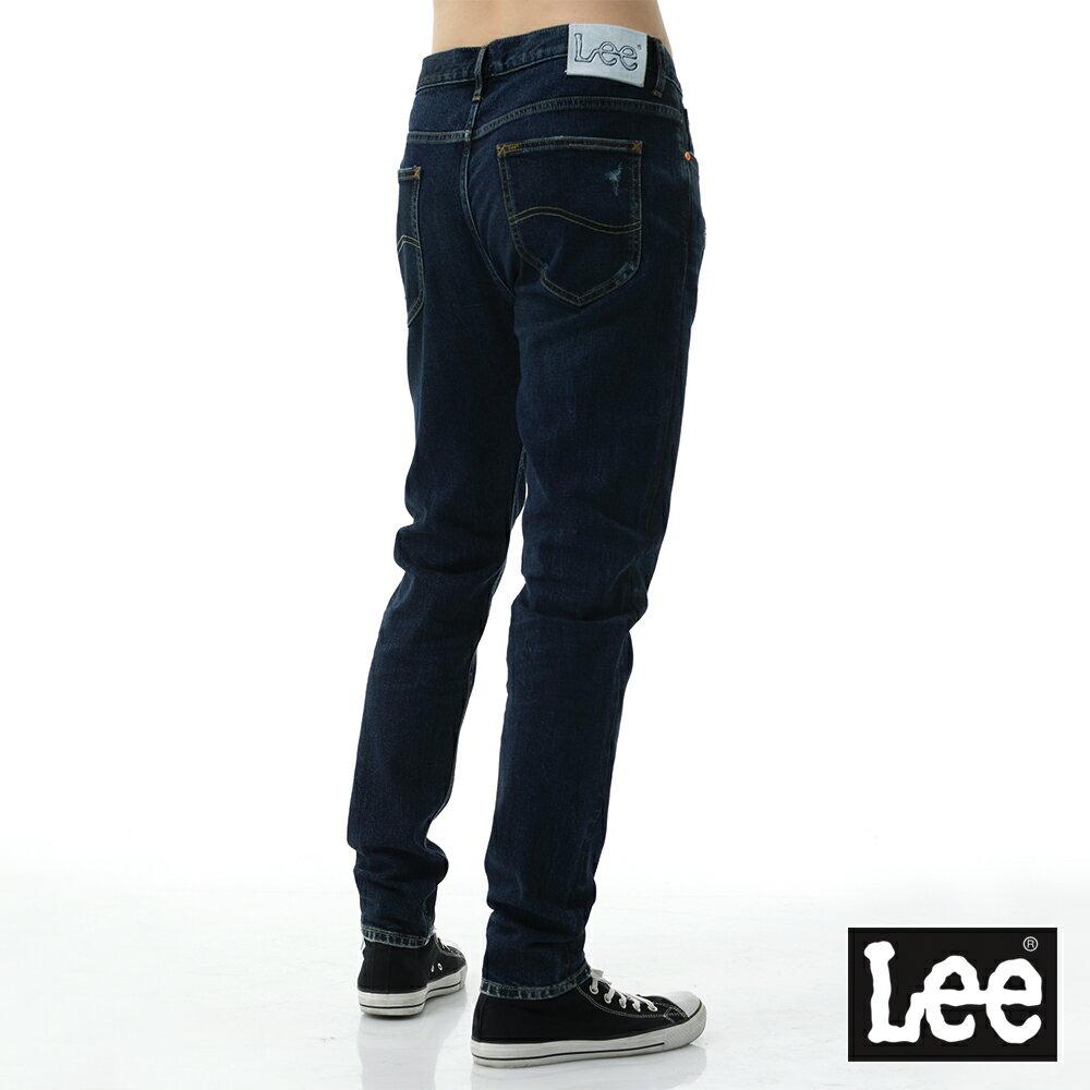 Lee 牛仔褲 731中腰舒適小直筒牛仔褲- 男款-深藍 5