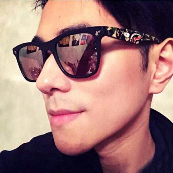 糖衣子輕鬆購【DZ0038】韓版時尚太陽眼鏡明星同款潮流墨鏡太陽眼鏡