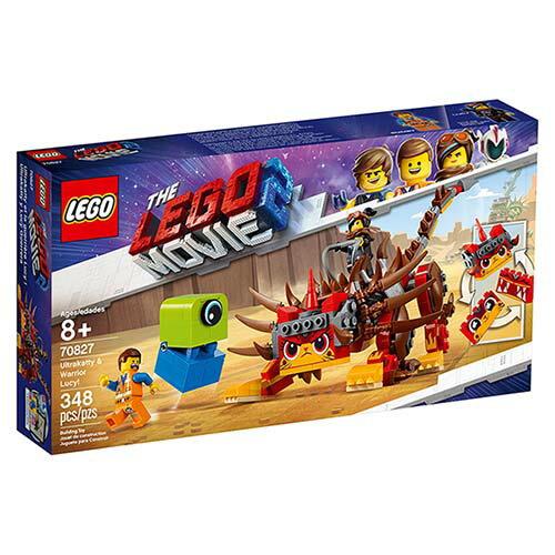 樂高LEGO 70827 The LEGO Movie 樂高電影系列 -Ultrakatty & Warrior Lucy! - 限時優惠好康折扣