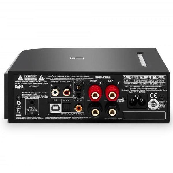 【金曲音響】英國 NAD D3020 USB DAC 綜合擴大機 (藍芽aptX)