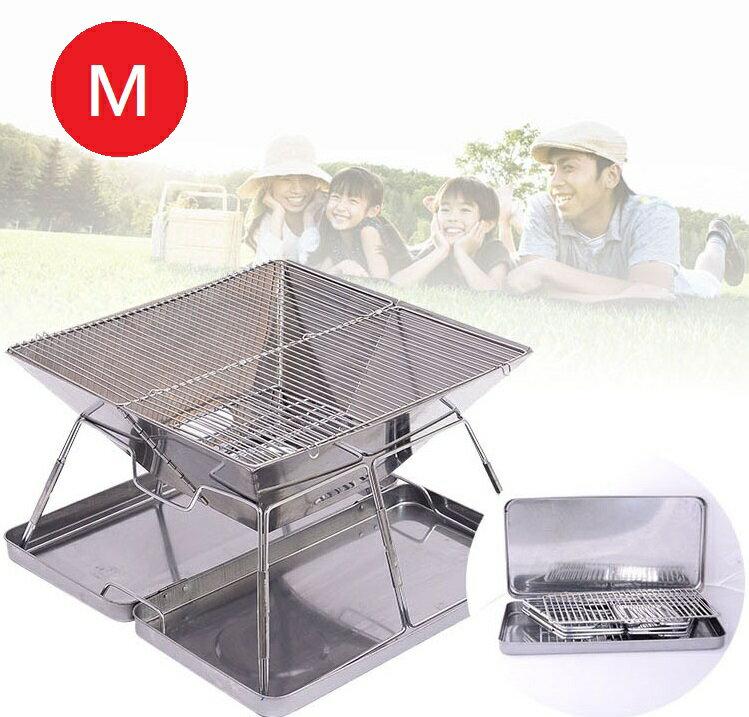 【露營趣】中和 TNR-211 不鏽鋼焚火台M號 環保烤肉架 焚火台 燒烤爐 摺疊烤爐 暖爐