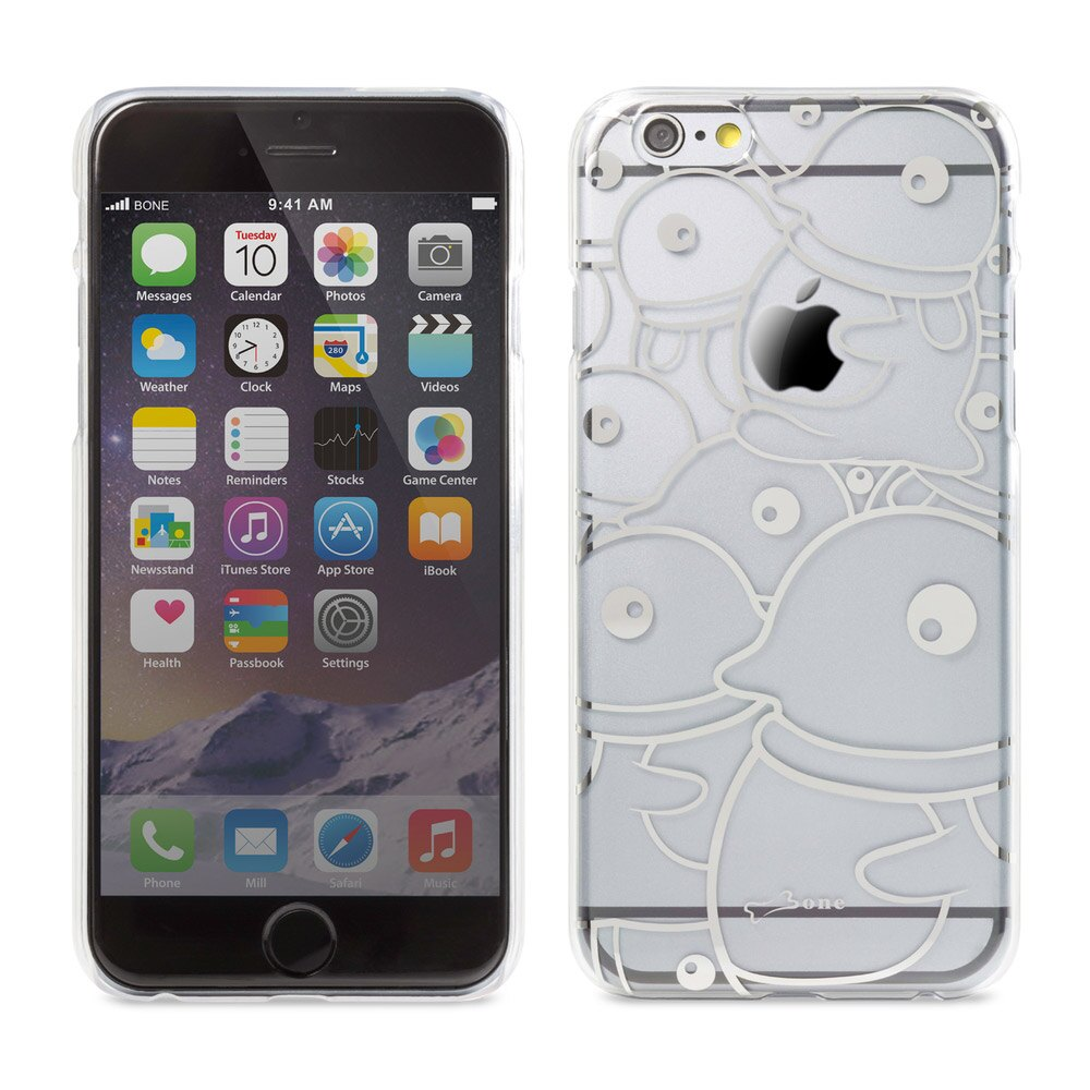 Bone|iPhone 6 / 6S 透明背蓋 保護殼 手機殼 - 企鵝