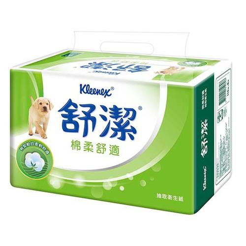 舒潔 棉柔舒適 抽取衛生紙 (110抽x8包)/串