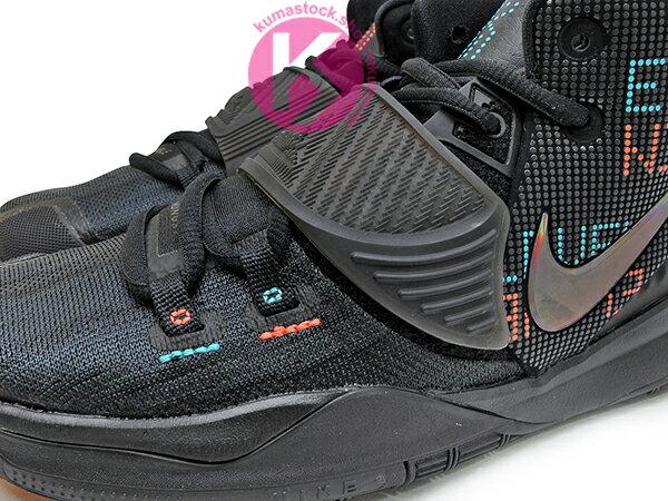 2020 Kyrie Irving 最新代言鞋款 NIKE KYRIE 6 VI GS 11:11 ELEVEN SHOT CLOCK 大童鞋 女鞋 全黑 LED 字體 歐文 籃球鞋 (BQ5599-006) 0820 2