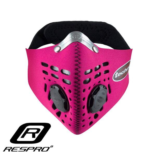 英國RESPROTECHNO防霾競速騎士口罩(粉紅色)