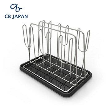CB Japan Flow廚房系列玻璃杯砧板立架