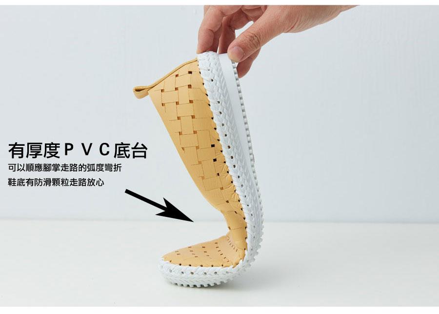 雷射洞洞一體成型鞋墊超輕便鞋【QT7016-11080】AppleNana蘋果奈奈 4