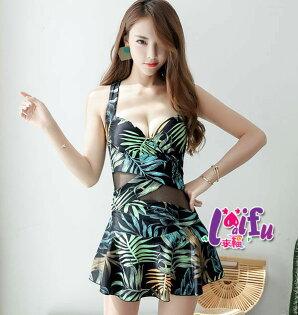 來福:來福泳衣,C875泳衣棕櫚連身泳衣游泳衣泳裝比基尼泳衣正品,售價950元