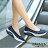 8BD213 預購 氣質鏤空蕾絲面氣墊健走搖搖鞋-紅 / 灰 / 黑 / 藍-36-42【ZALULU愛鞋館】 3