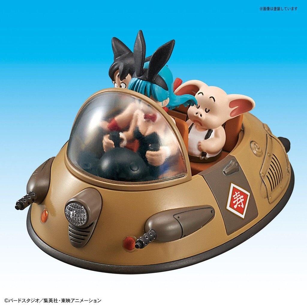 【預購】日本進口金證 萬代 牛魔王的車 BANDAI MECHACOLLE 七龍珠 第二卷 vol.2【星野日本玩具】 7