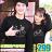◆快速出貨◆刷毛T恤 圓領刷毛 情侶T恤 暖暖刷毛 MIT台灣製.彩虹漸層腳踏車【YCS324】可單買.艾咪E舖 0