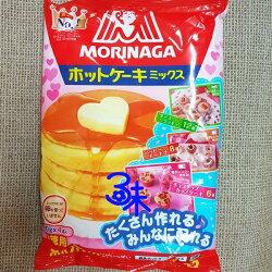 (日本) MORINAGA 森永 德用蛋糕鬆餅粉 (鬆厚鬆餅粉) 1包 600 公克 (4袋入) 特價 158 元 【4902888544224】