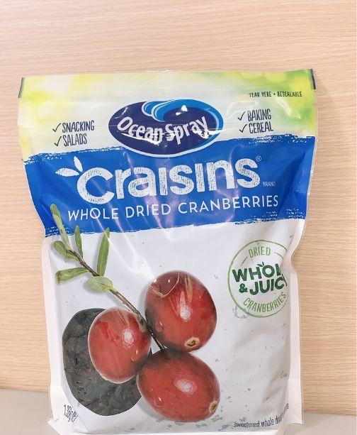 蔓越莓乾 OceanSpray Craisins蔓越莓乾 一包約1.36公斤 美國 果乾 水果 零食 點心 嘴饞 4