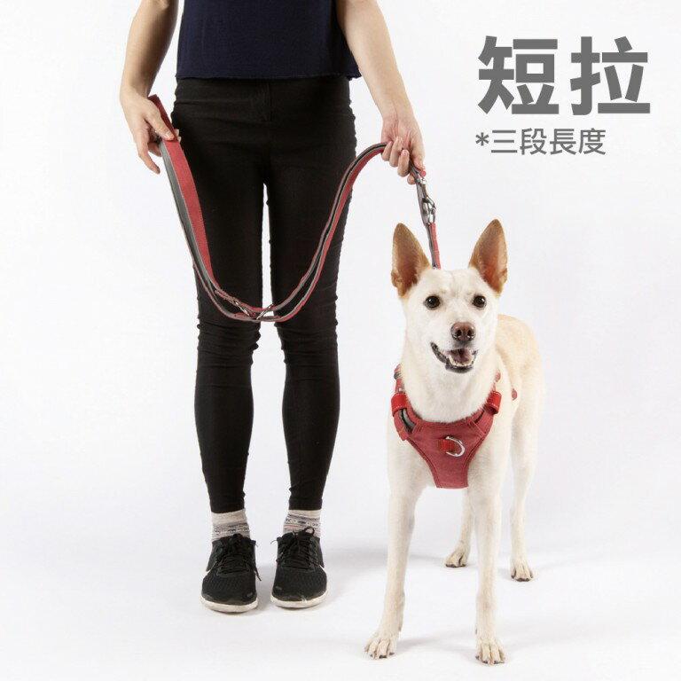 【PPark-寵物牽繩】牛仔布-多用式拉繩L
