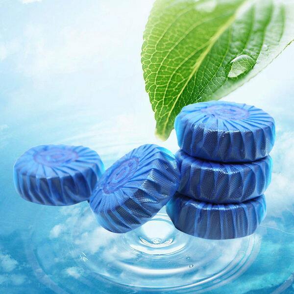 PS Mall 清香藍泡泡馬桶清潔錠 潔廁球 免洗 馬桶【J2165】