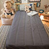 居家生活【鐵灰】床包式保潔墊(尺寸可選)抗菌防污 台灣製 厚實鋪棉 可水洗 好窩生活節。就在棉床本舖Annahome居家生活