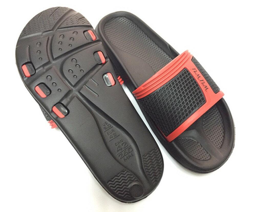 WUWU詹姆士拖鞋 潮男外出拖鞋 運動拖鞋 型男拖鞋 防水拖鞋室內外拖鞋透氣拖鞋流線好穿 3