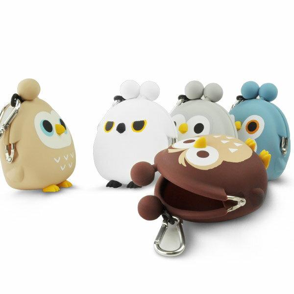 日本p+g design / mimi POCHI矽膠貓頭鷹零錢包 / 3dowl。共5色-日本必買 日本樂天代購(1382*0.1) 4