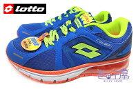女性慢跑鞋到【巷子屋】義大利第一品牌-LOTTO樂得 大童/女款雙避震炫彩氣墊運動慢跑鞋 [2246] 海洋藍就在巷子屋推薦女性慢跑鞋