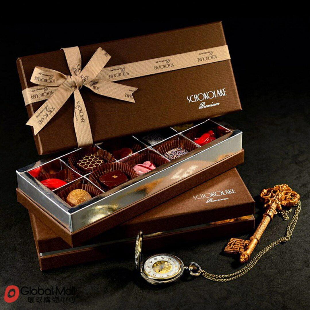 【巧克力雲莊】10入皇家至尊酒心禮盒(限量純手工巧克力,口味隨機)