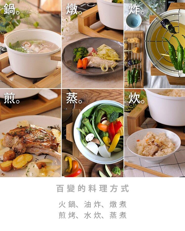 PRINCESS荷蘭公主 多功能陶瓷料理鍋(黑) 173026 公司貨1年保固 7