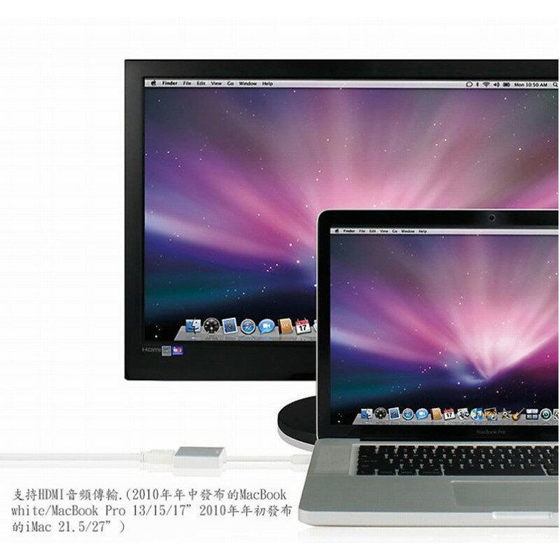 【eYe攝影】APPLE MAC Thunderbolt mini DisplayPort 轉 hdmi 公對公 傳輸線