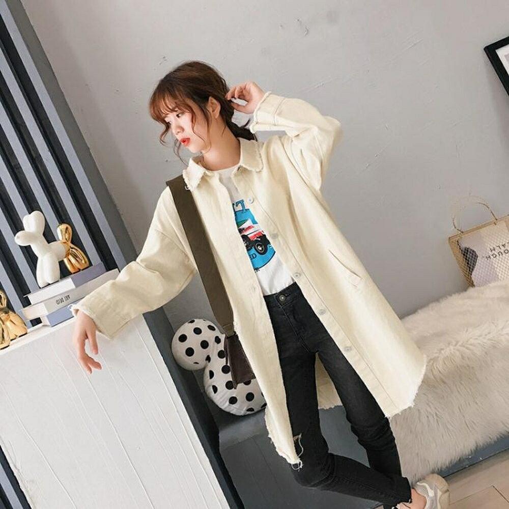 風衣中長版       風衣女中長款薄款裝港味復古外套早秋矮個子上衣 瑪麗蘇