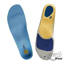 SIDAS 3feet 頂級運動鞋墊 3D鞋墊-RUN 慢跑抗菌鞋墊 SI3269036【 胖媛的店 】