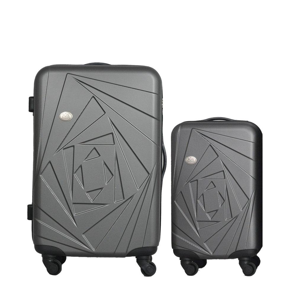 Mon Bagage 巴黎風情系列ABS輕硬殼 28寸 20寸 兩件組 旅行箱 行李箱 0