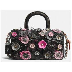 COACH 女士花朵單肩包手提包女包 專櫃款 86854