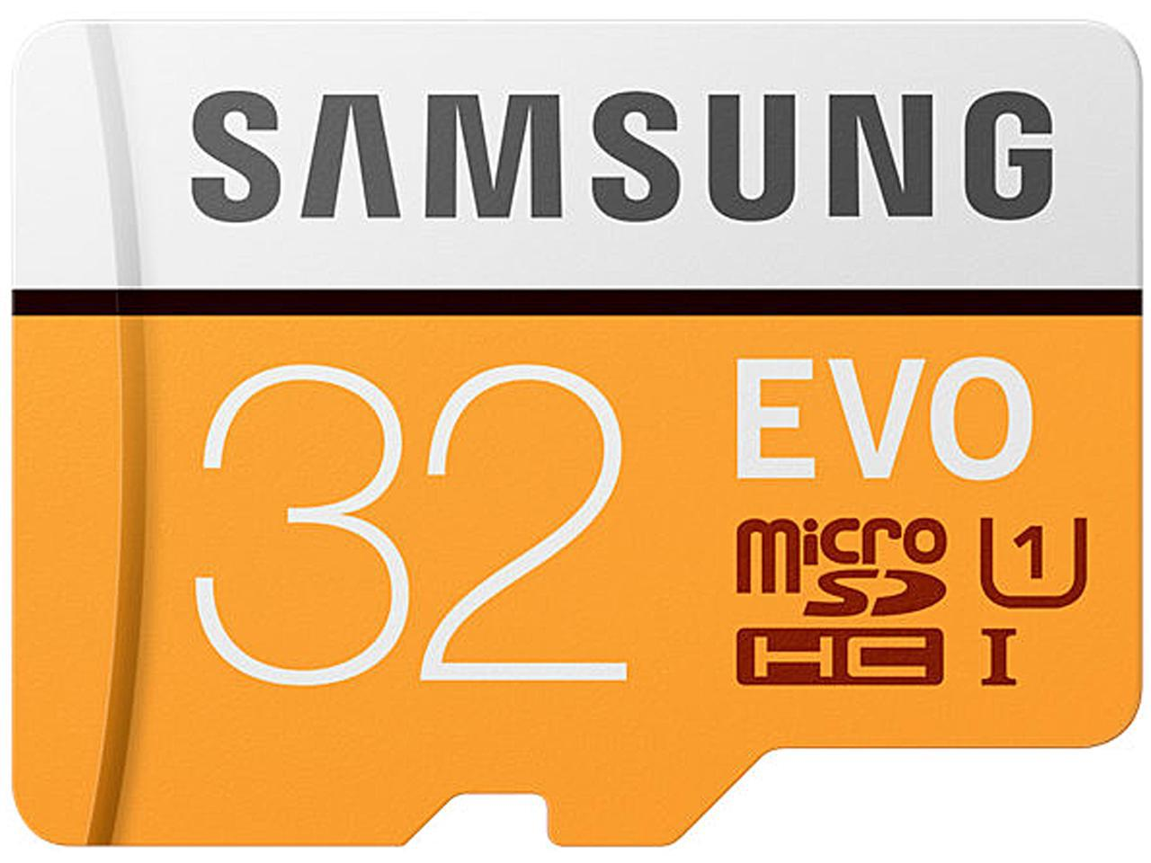 Samsung EVO 95MB/s 32GB microSDHC Class 10 32G microSD micro SD SDHC UHS-I U1 C10 MB-MP32GA with Original SD Adapter 0