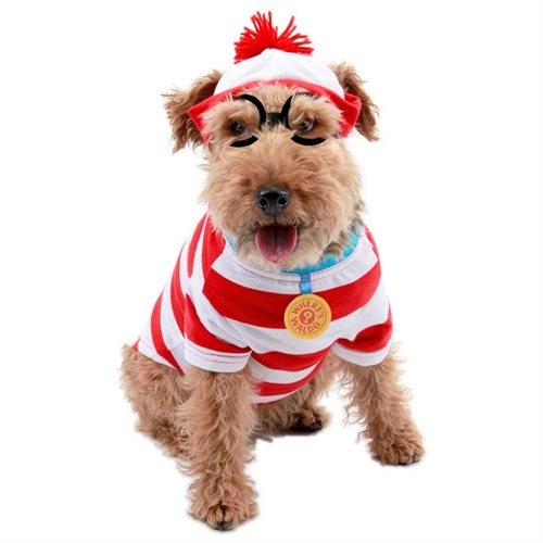 Where's Waldo Woof Pet Costume - Size Small 0