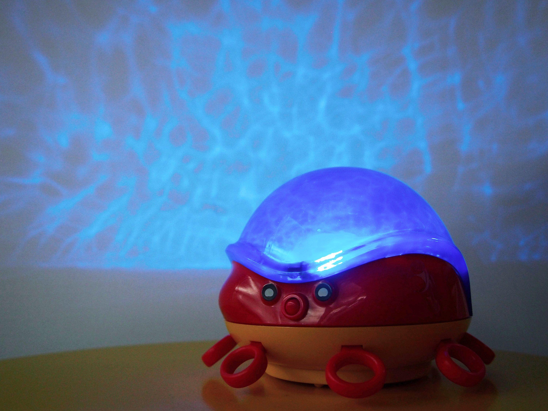Lumitusi- 動感章魚LED水波紋投射夜燈 2