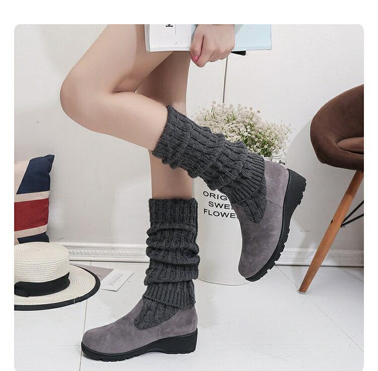 長靴 過膝靴高筒靴2020新款秋冬彈力靴女士兩穿瘦瘦靴時尚長款單靴子潮