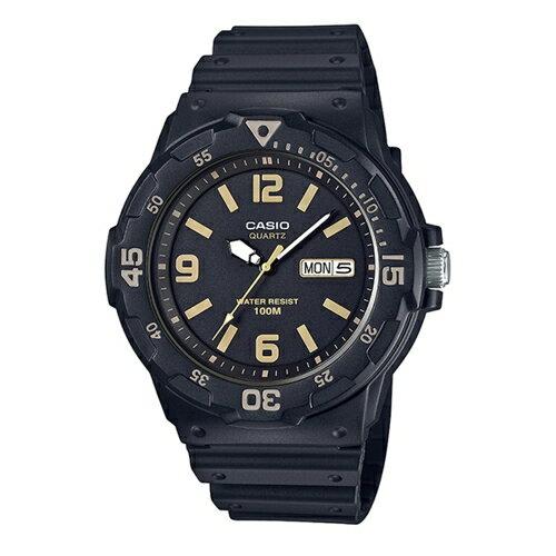 CASIO 指針式 腕錶  防水100米  MRW~200H~1B3VDF