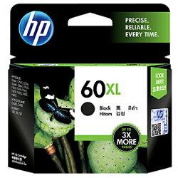 【HP 墨水匣】CC641WA/NO.60XL 高容量原廠黑色墨水匣