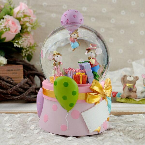 讚爾藝術:讚爾藝術JARLL歡樂禮物PARTY水晶球音樂鈴生日禮物居家擺飾