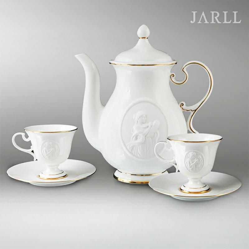 讚爾藝術 JARLL 繆思茶壺杯盤組 新居 升官 喬遷 送禮