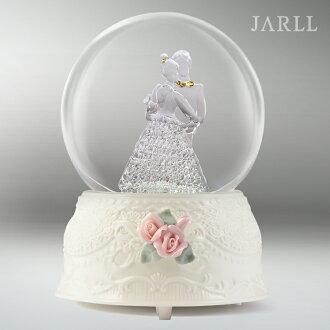 讚爾藝術 JARLL 婚禮進行曲 水晶球音樂盒 手工玻璃拉絲 新婚禮物 婚禮佈置